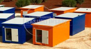 Konteyner ve Prefabrik Yapı Elemanları
